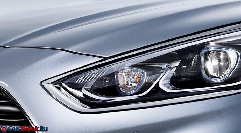 Hyundai показала новую версию седана Sonata