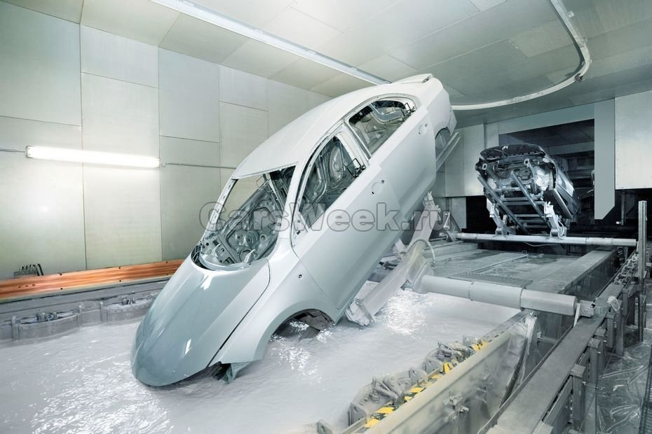 Немцы остановили сборку нескольких моделей накалужском автомобильном заводе