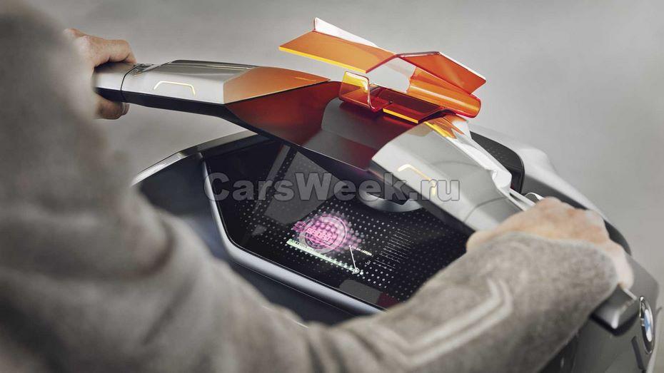 Представлен концептуальный мотоцикл БМВ Motorrad Concept Link