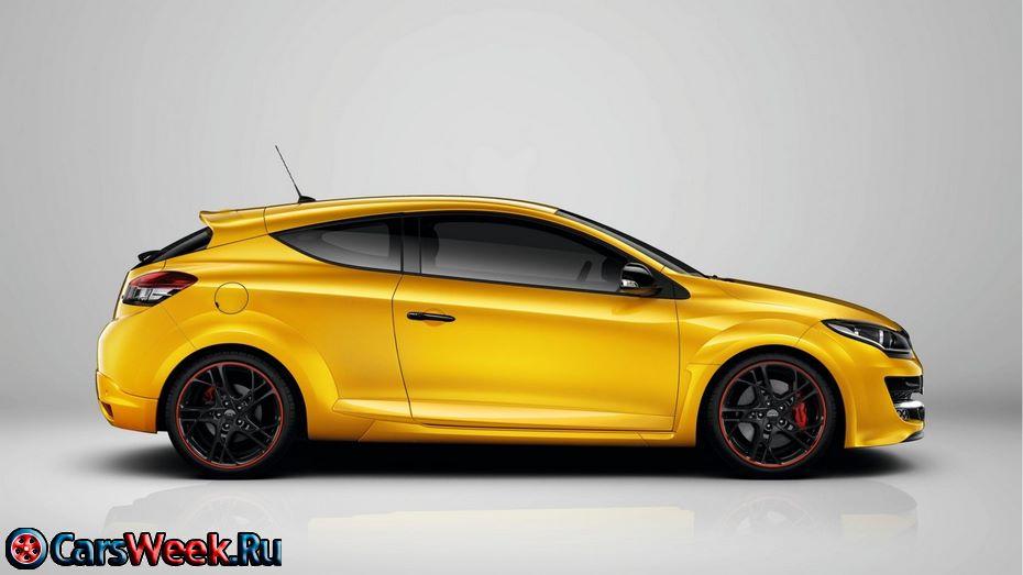 Новый Renault MeganeRS получит 300-сильный двигатель