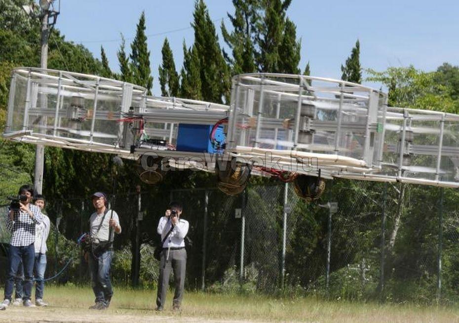 Создан летающий автомобиль— Ученые