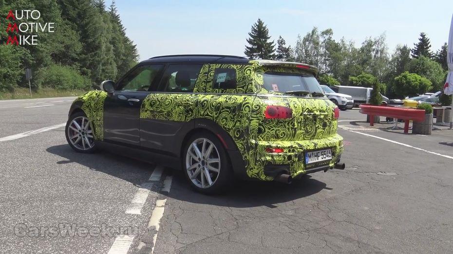 Мини тестирует 300-сильного конкурента Форд FocusRS