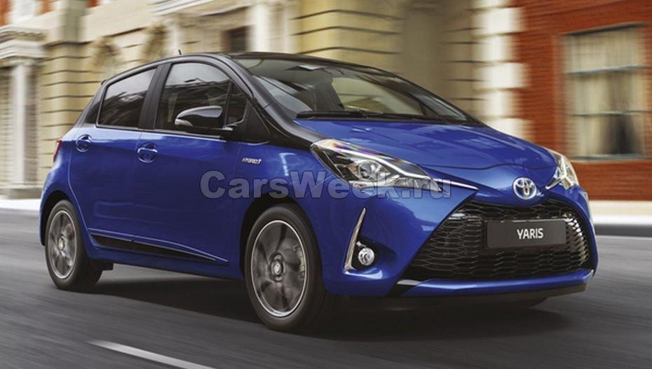 Toyota Vios и Toyota Yaris нового поколения дебютируют в 2018 году