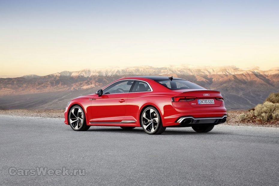 Ауди RS5 Coupe тестировали на трассах Европы
