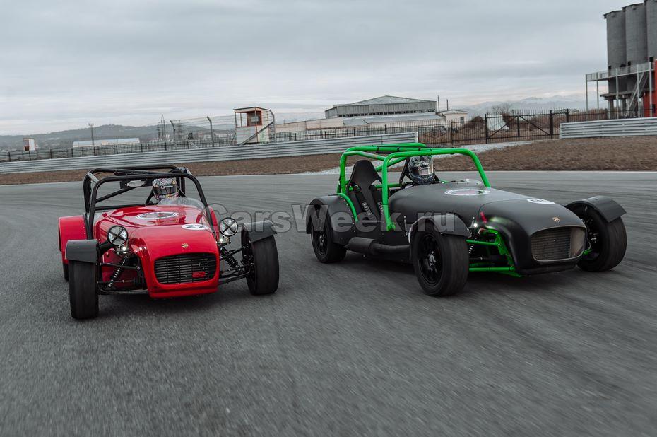 Сделано в РФ: названа цена спорткараDK Racing Shortcut