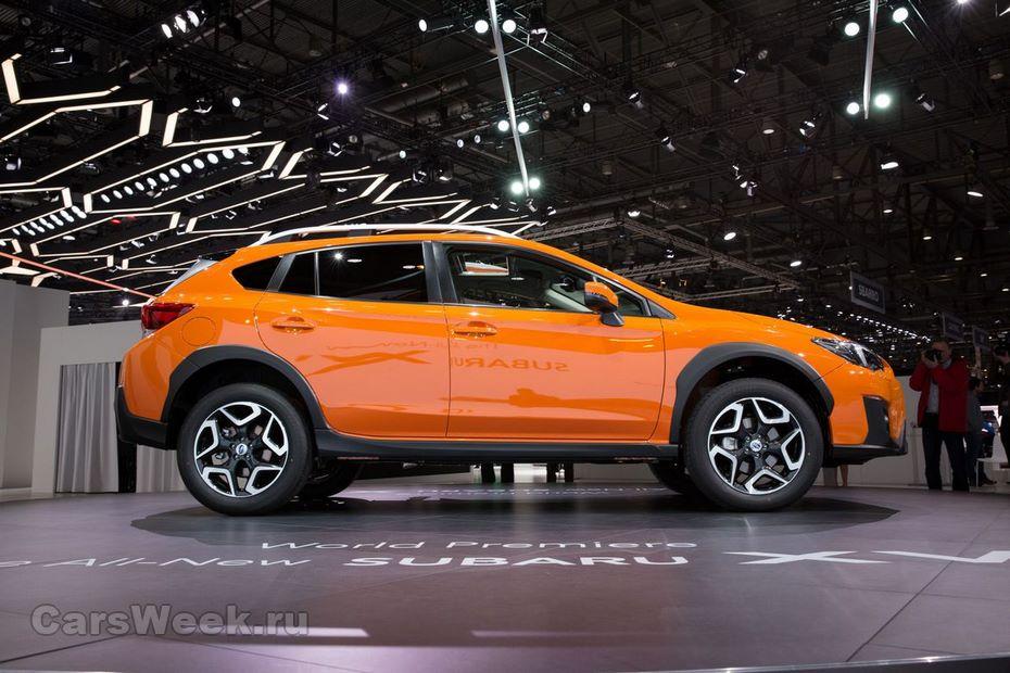 Subaru XV нового поколения поступит в продажу в России этой осенью