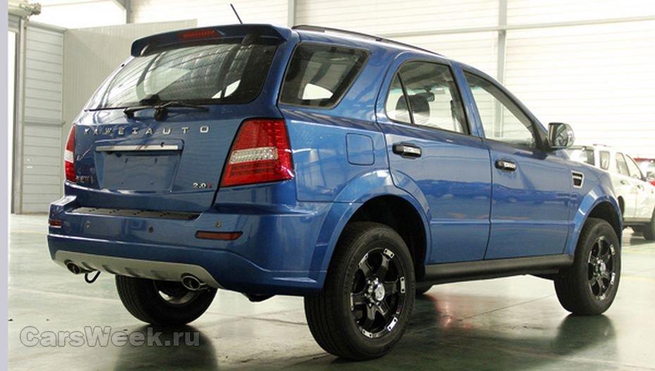 В КНР компания Kawei представила внедорожник-копию Форд F-150