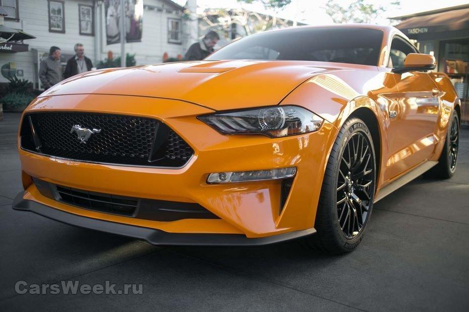 Форд MustangGT получит новейшую выхлопную систему к 2018г