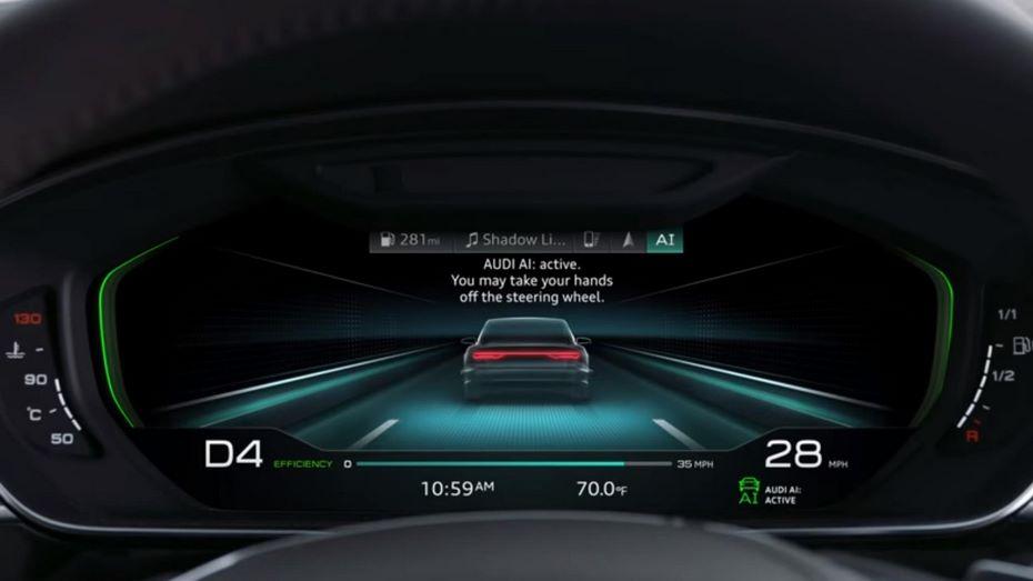 Новая Ауди  A8 получит навсе 100%  уникальный  дизайн оптики