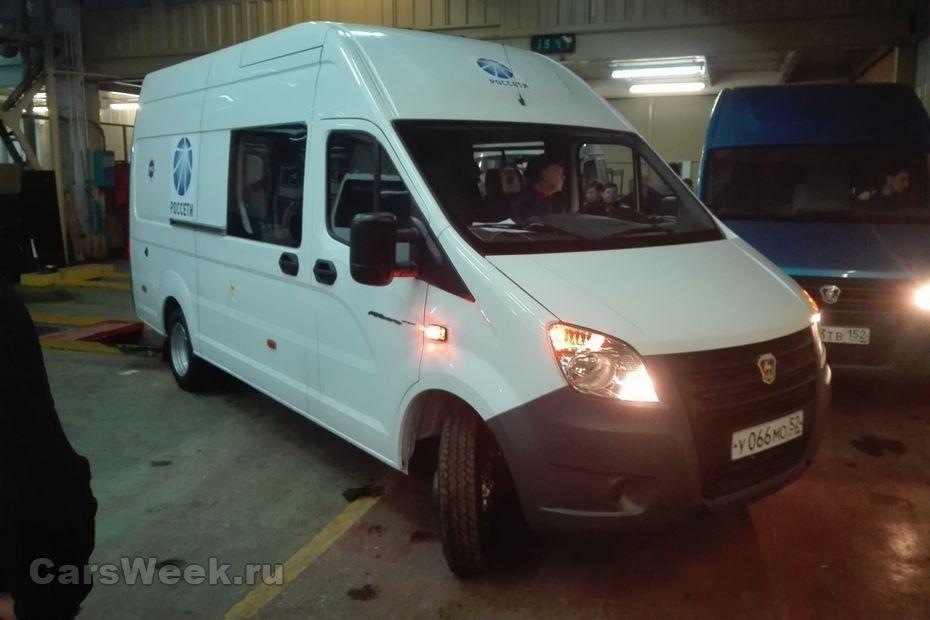 «Группа ГАЗ» разработала новый электрокар набазе «ГАЗель NEXT»