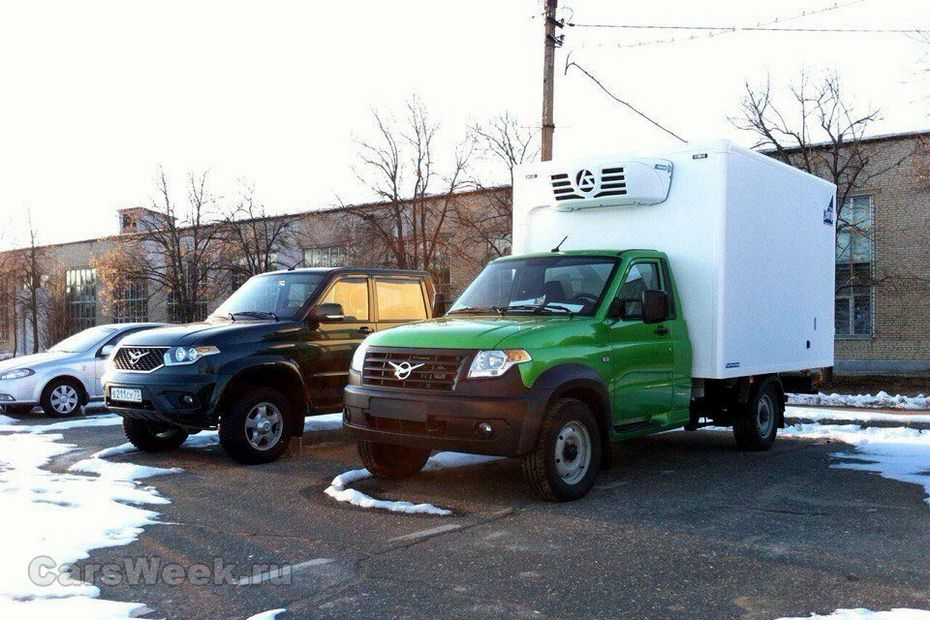 УАЗ назвал цены нановый коммерческий автомобиль «Профи»