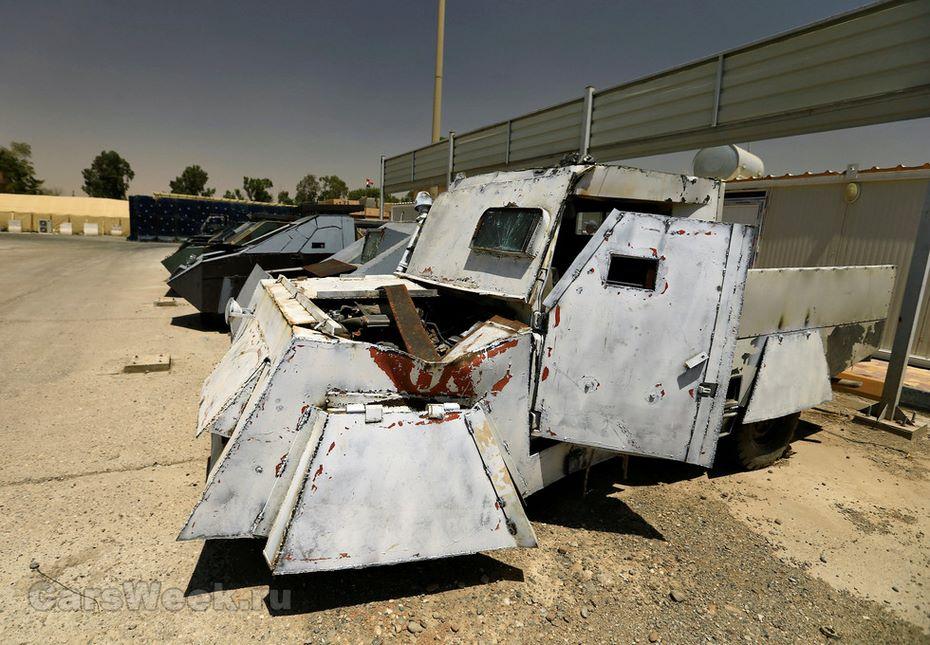 ИГИЛ создали собственный автомобильный парк встиле «Безумного Макса»