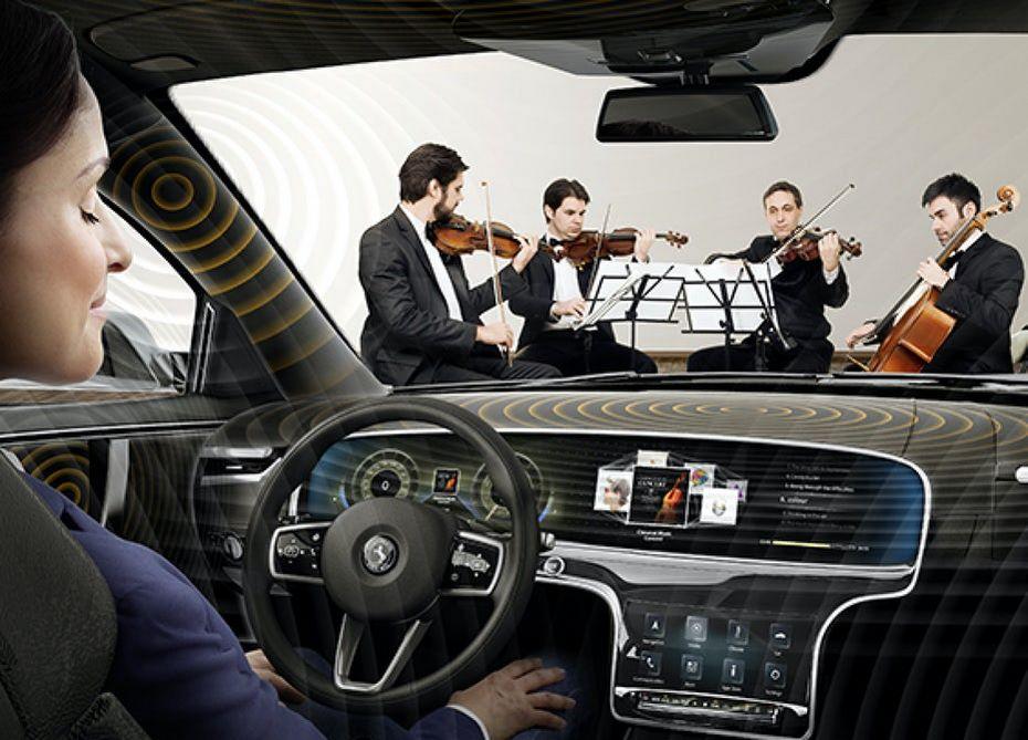 Компания континенталь создала аудиосистему для авто без динамиков