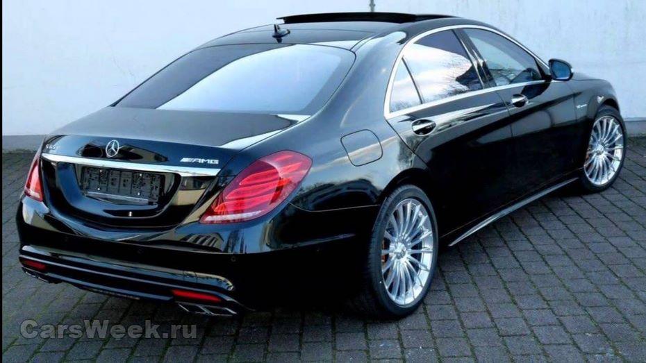 Benz назвал стоимость рестайлингового S-Class сдвигателем V12