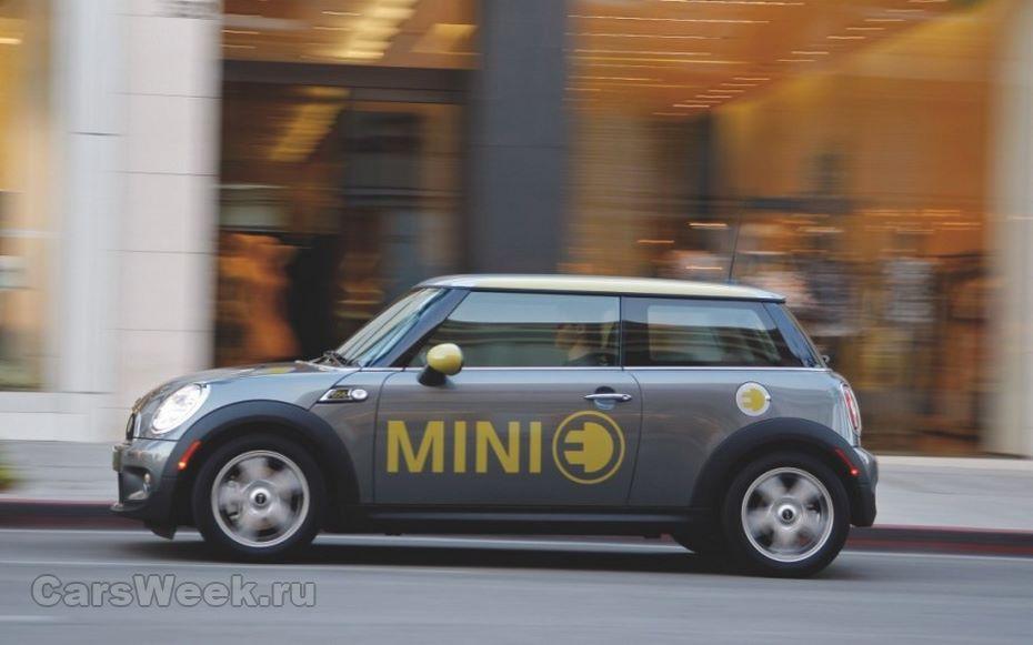 Mini может представить первый электромобиль уже всентябре