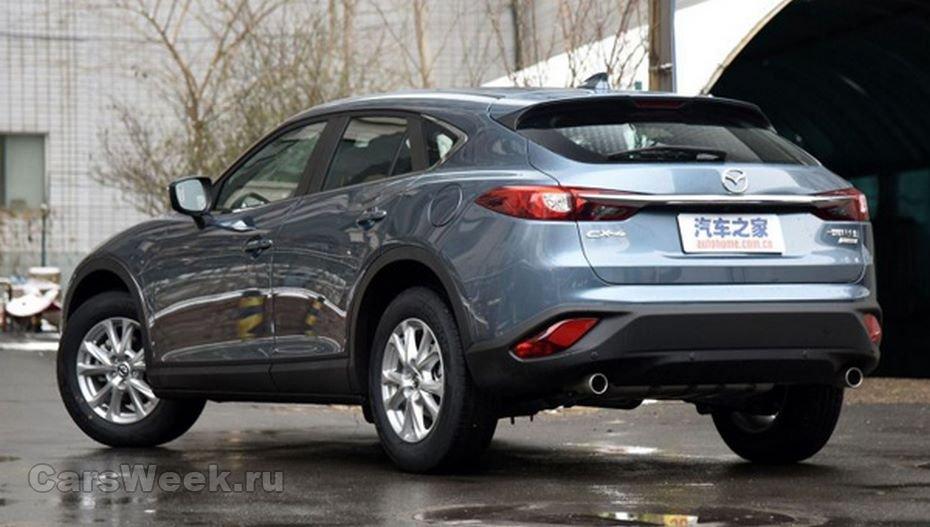 Мазда представит кросс-купе CX-4 вконце августа