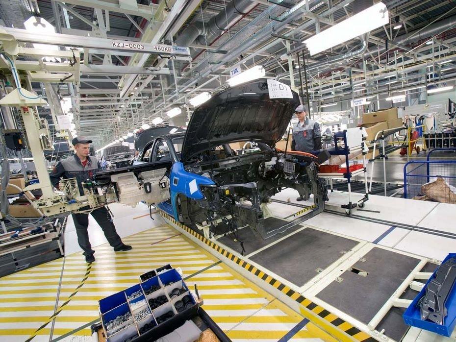 Завод Тоёта вПетербурге уходит втрадиционный коллективный отпуск по20августа