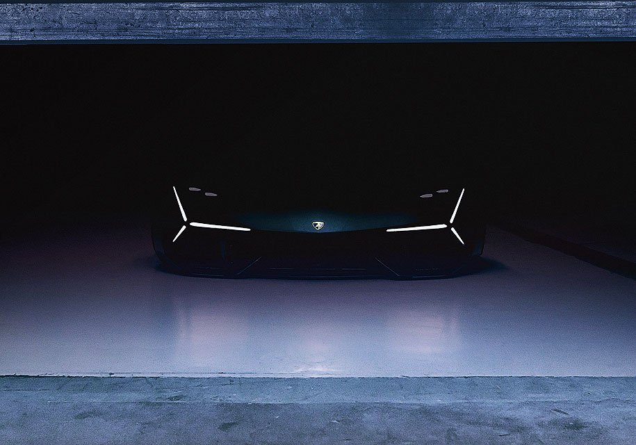 Lamborghini представит спорткар будущего 6ноября