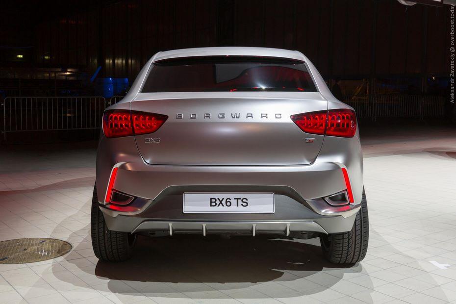 Размещены фотографии нового Borgward BX6