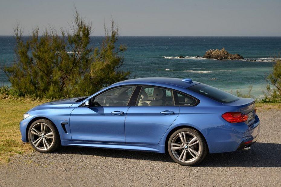 БМВ представила 320-сильный Gran Coupe 4-Series голубого цвета