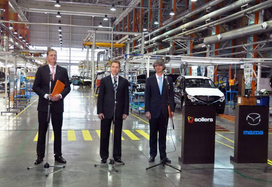 СП Мазда иСоллерса начало строительство завода моторов воВладивостоке