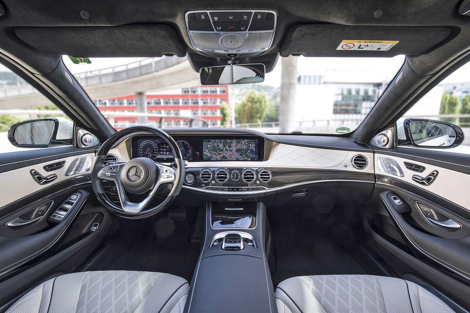 Benz начал тесты беспилотного S-Class вШанхае