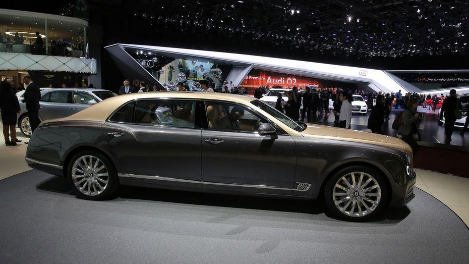 Бентли представила в Российской Федерации особую версию седана Mulsanne Extended Wheelbase