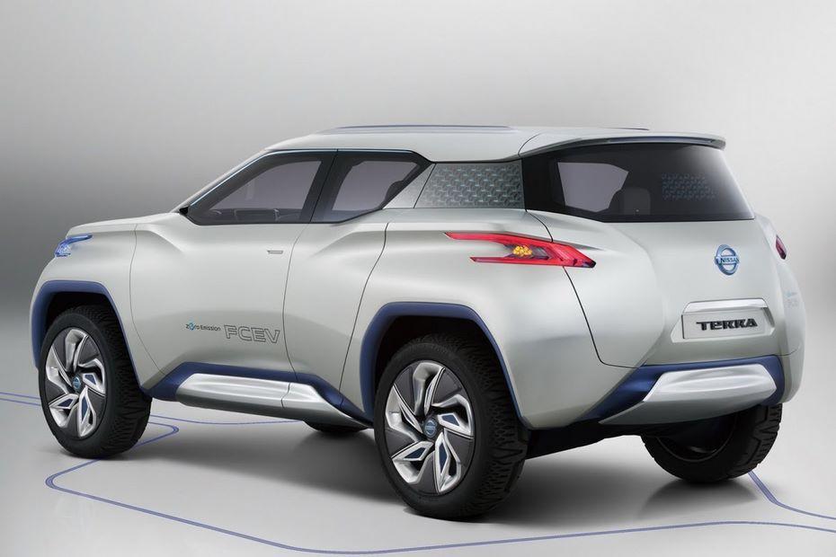 Nissan поделился тизером своего первого электрического кроссовера class=