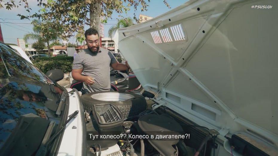 ВСеть выложили видео тест-драйва джипа «Нива» вЛос-Анджелесе