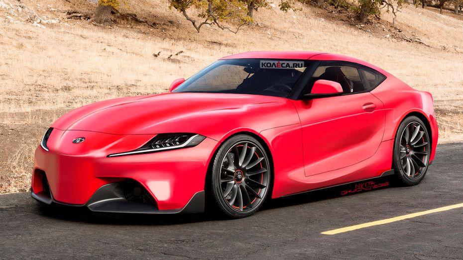 Размещены  рендеры серийной версии возрождённого спорткара Тоёта  Supra