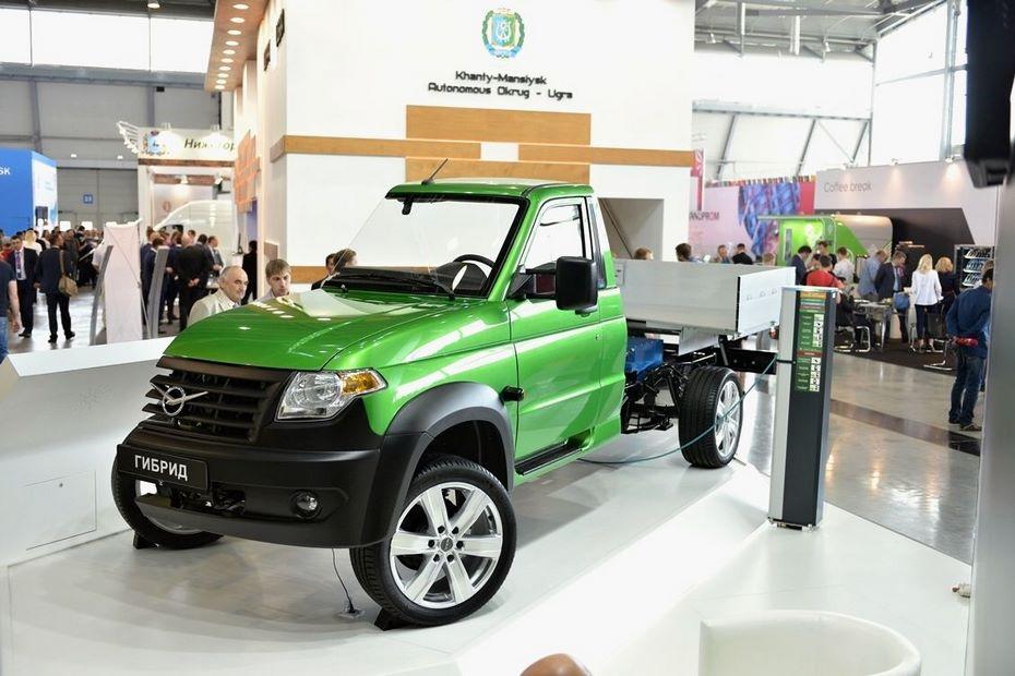 В 2018г. УАЗ представит гибридный фургон УАЗ Профи