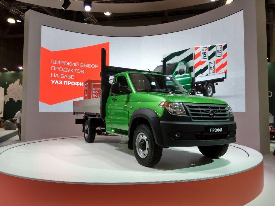 УАЗ представит гибридный грузовик «Профи» летом 2018 года
