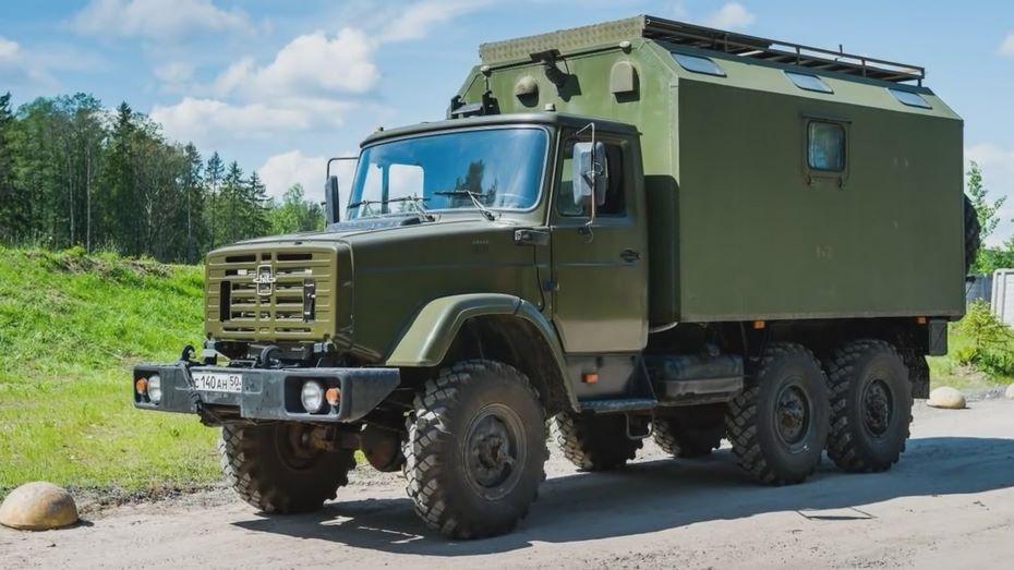 Размещен ТОП-5 самых крутых «домов наколёсах» из РФ