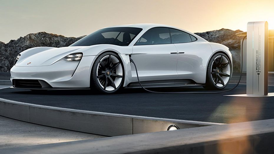 Порш выпустит конкурента Tesla к 2019
