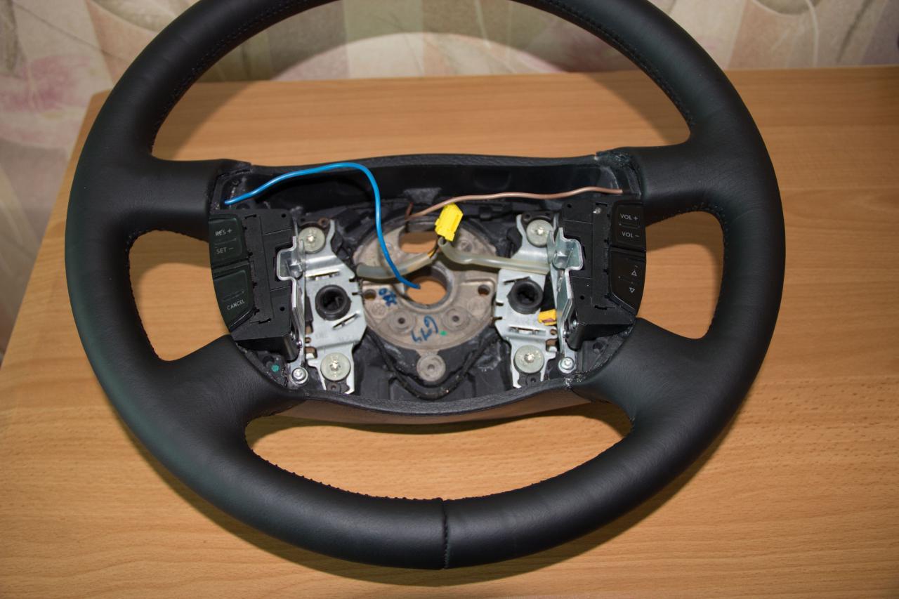 Рулевое колесо своими руками