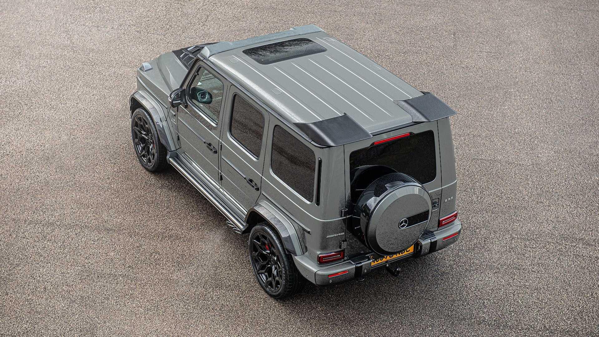 Британское тюнинг-ателье Kahn выпустило Mercedes G-Class с карбоновым обвесом Carbon Wide Track