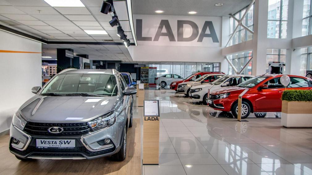 Продажи автомобилей LADA в Европе упали на 35% в 2021 году