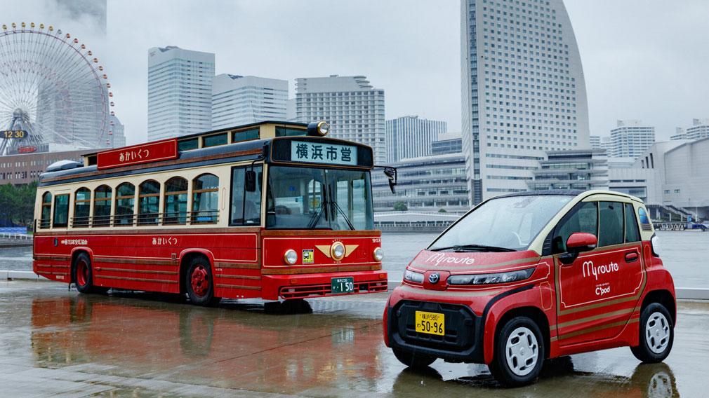 Toyota запустила в Японии сервис каршеринга ультракомпактных электрокаров C+ Pod