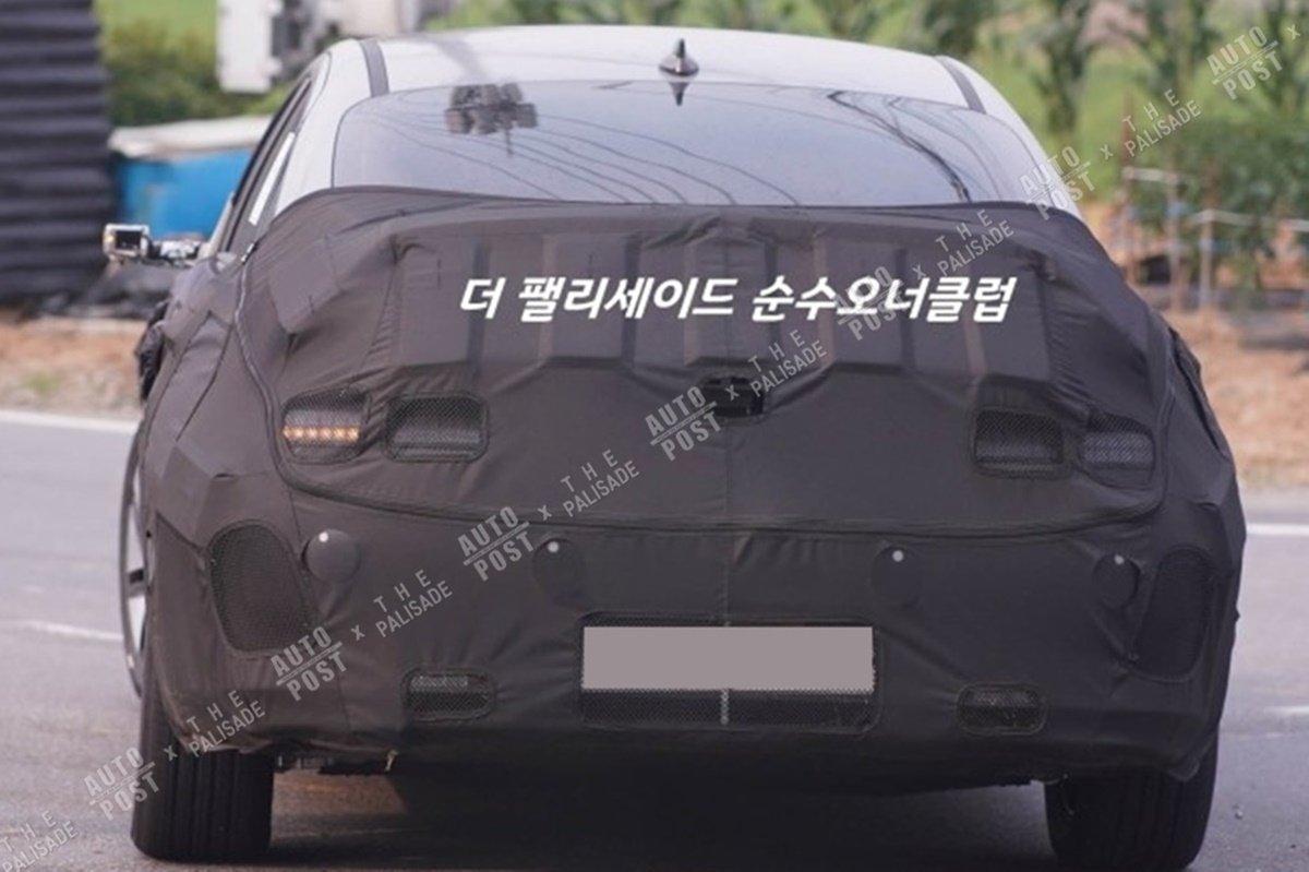 Электроседан Hyundai IONIQ 6 показали на новых шпионских фото