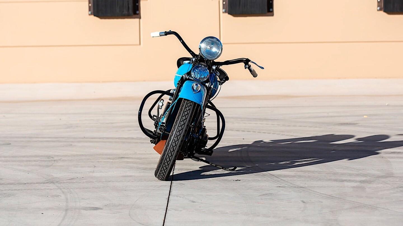 Harley-Davidson EL 1938 года продали в 354 раза дороже его начальной цены