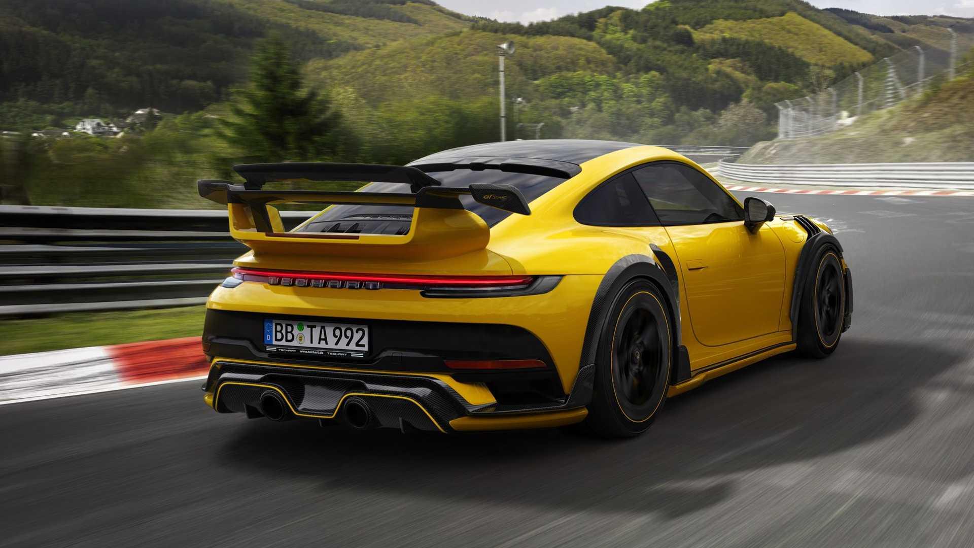 TechArt превратил новый суперкар Porsche 911 GT2 RS в дерзкий GTstreet R