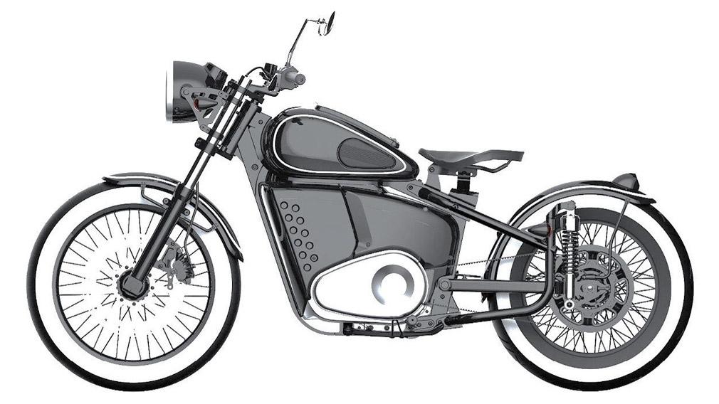 «Калашников» защитил дизайн электрического мотоцикла в стиле ретро Иж-49