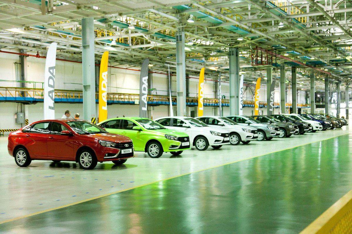 Выпуск легковых машин в России увеличился более чем вдвое в мае 2021 года