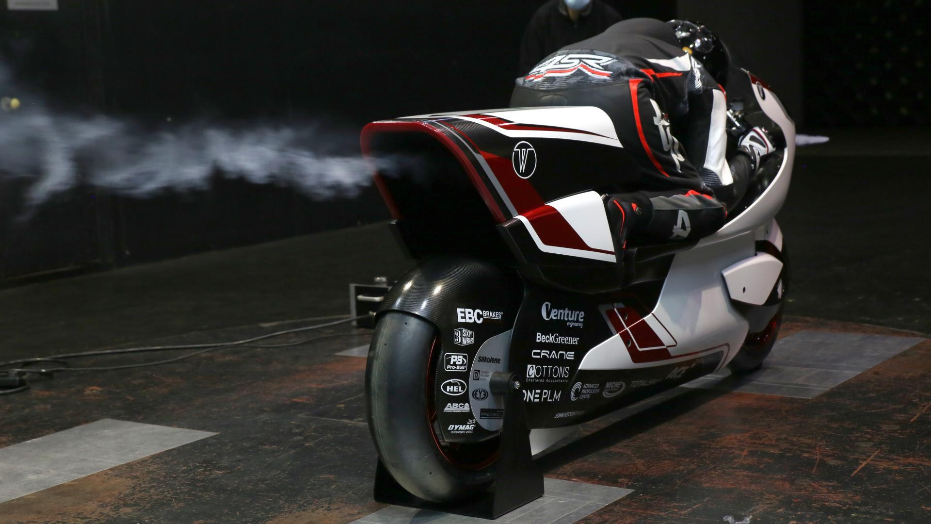 White Motorcycle Concepts разработала аэродинамический электромотоцикл для нового рекорда скорости