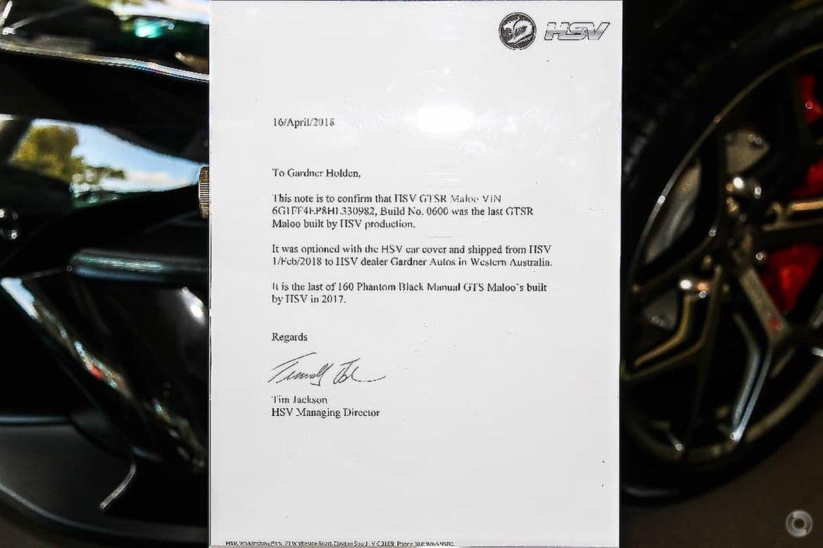 Последний из когда-либо созданных HSV GTSR Maloo выставили на продажу почти за 44 млн рублей