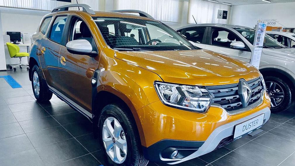 Продажи Renault в России сократились на 11% в августе 2021 года