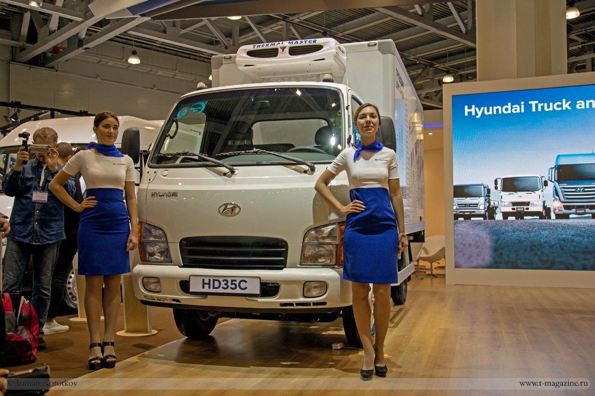 В РФ стартовали продажи фургона Хендай HD35 City