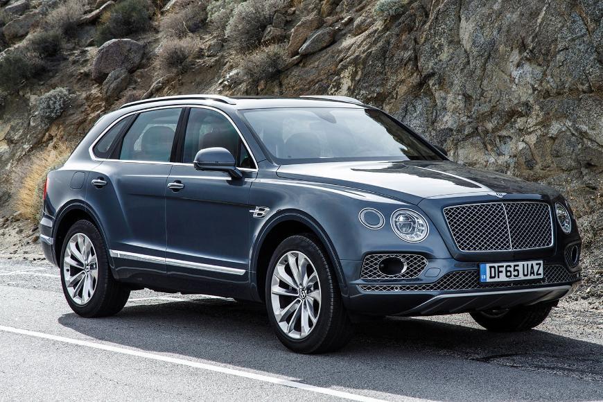 Дизельный Bentley Bentayga поступил в продажу в России