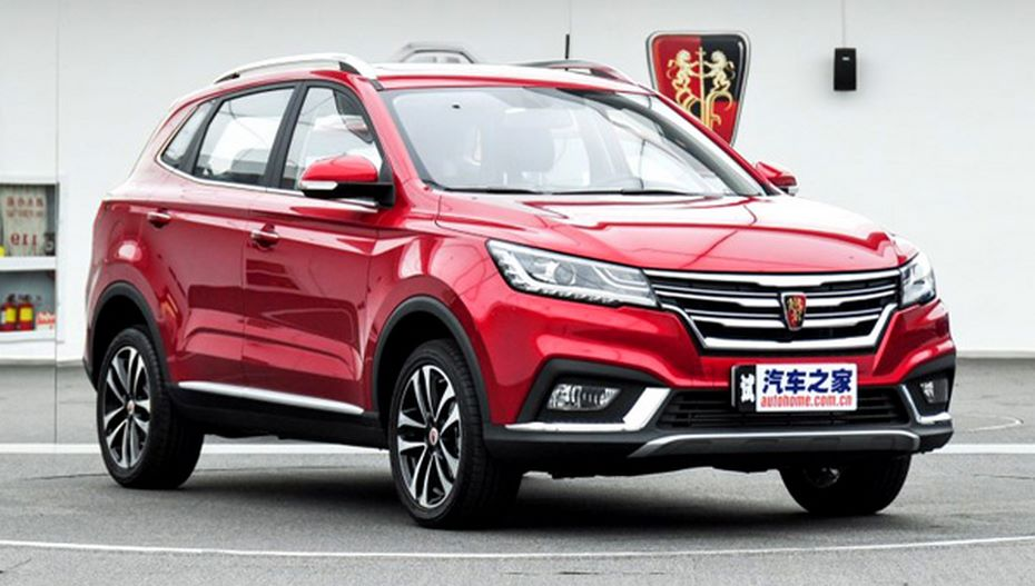 Roewe RX3: Китайцы вывели нарынок клон VW