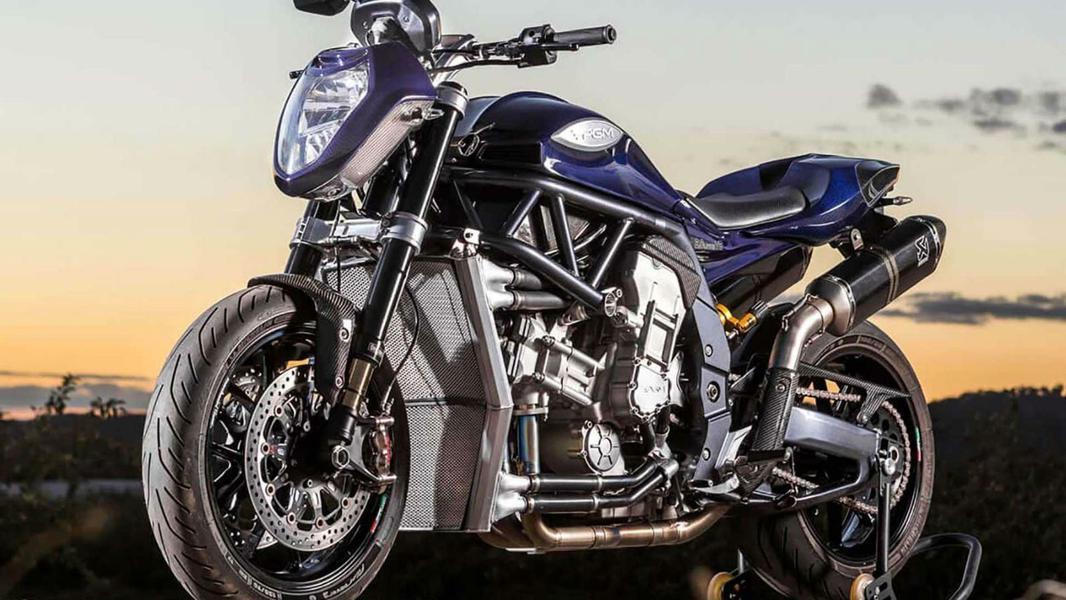 В Австралии представили мотоцикл с двигателем V8